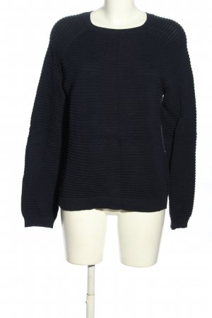 Tom Tailor Denim Strickpullover schwarz Casual-Look