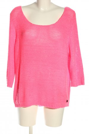 Tom Tailor Denim Strickpullover pink Casual-Look
