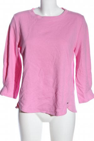 Tom Tailor Denim Strickshirt pink Casual-Look