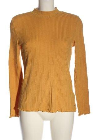 Tom Tailor Denim Strickshirt hellorange Casual-Look