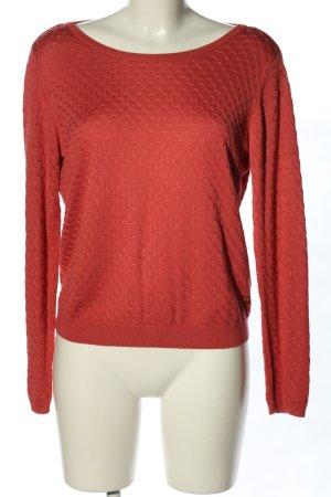 Tom Tailor Denim Strickshirt rot Casual-Look