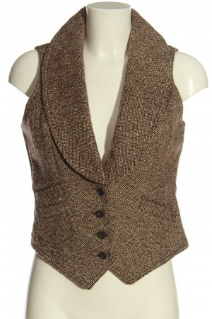 Tom Tailor Denim Knitted Vest brown casual look