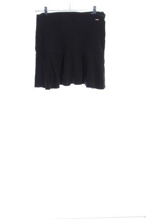 Tom Tailor Denim Broomstick Skirt black casual look
