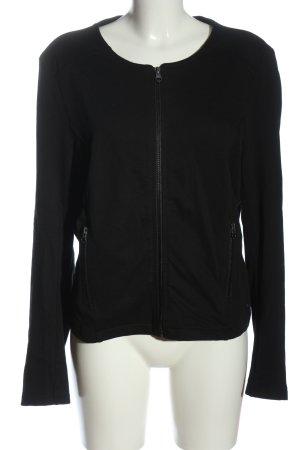 Tom Tailor Denim Sweat Jacket black casual look