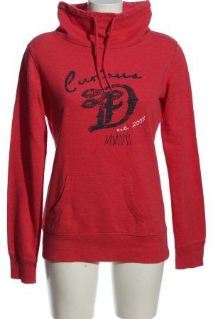 Tom Tailor Denim Sweatshirt Motivdruck Casual-Look