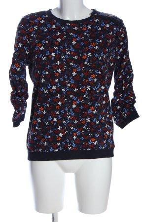 Tom Tailor Denim Sweatshirt Blumenmuster Casual-Look