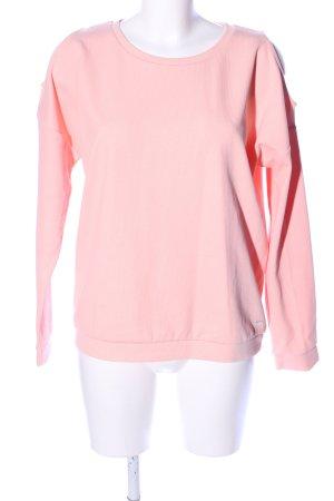 Tom Tailor Denim Sweatshirt pink Casual-Look