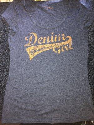 Tom Tailor, Denim T-Shirt , blue, blau, cotton