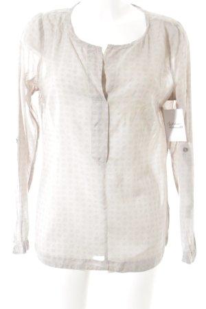 Tom Tailor Denim Transparenz-Bluse grau-graugrün schlichter Stil