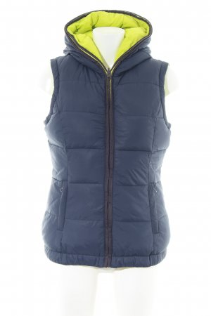 Tom Tailor Denim Reversible Vest blue-primrose quilting pattern casual look