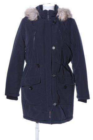 Tom Tailor Denim Winterjacke blau Casual-Look