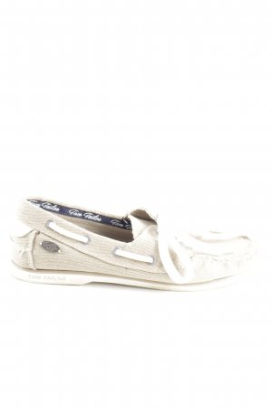 Tom Tailor Scarpa Derby bianco sporco-bianco stile casual