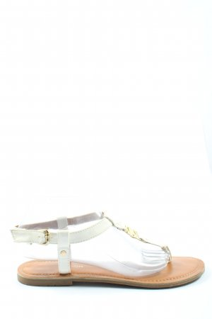 Tom Tailor Dianette-Sandalen weiß Casual-Look