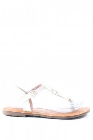 Tom Tailor Sandalias Dianette blanco look casual