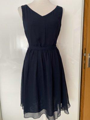 Tom Tailor Midi Dress dark blue