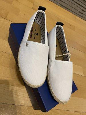 Tom Tailor Espadrille Sandals white