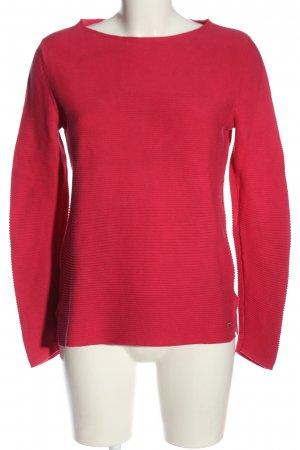Tom Tailor Feinstrickpullover rot Casual-Look