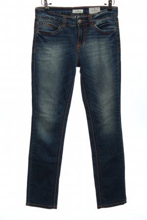 Tom Tailor Five-Pocket-Hose blau Casual-Look