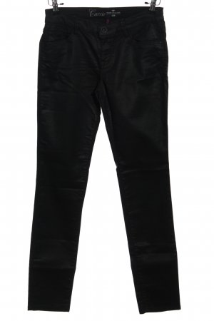 Tom Tailor Five-Pocket-Hose schwarz Casual-Look
