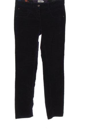 Tom Tailor Pantalone cinque tasche nero stile casual