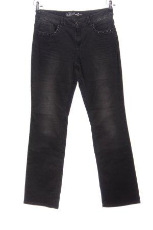 Tom Tailor Five-Pocket-Hose schwarz Casual-Look