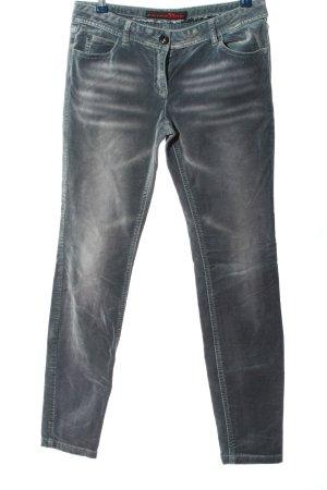 Tom Tailor Five-Pocket-Hose hellgrau Casual-Look