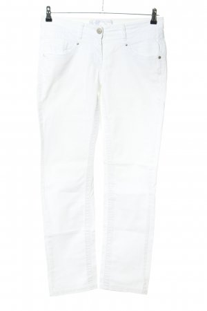 Tom Tailor Five-Pocket-Hose weiß Casual-Look