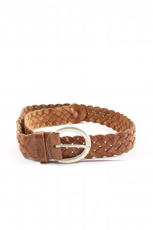 Tom Tailor Braided Belt brown casual look