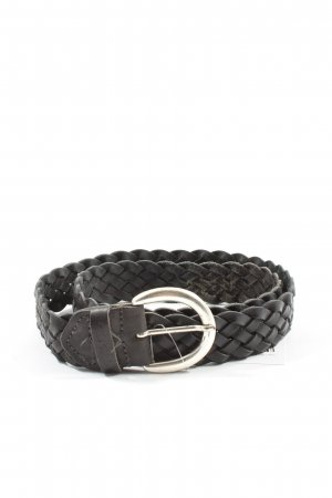 Tom Tailor Braided Belt black cable stitch casual look
