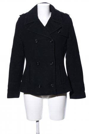 Tom Tailor Manteau polaire noir style d'affaires