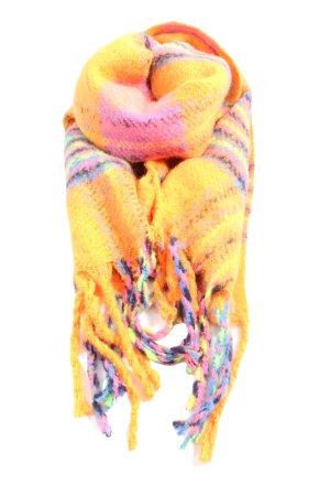 Tom Tailor Écharpe à franges motif abstrait style décontracté