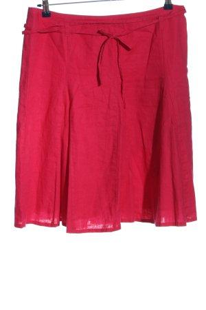 Tom Tailor Falda acampanada rojo look casual