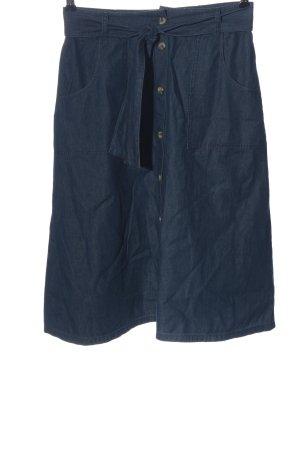 Tom Tailor Glockenrock blau Casual-Look