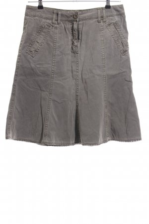 Tom Tailor Flared Skirt light grey casual look