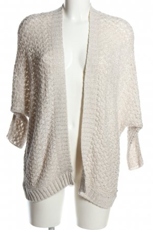 Tom Tailor Cardigan all'uncinetto bianco sporco stile casual