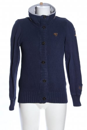 Tom Tailor Häkel Cardigan blau Casual-Look