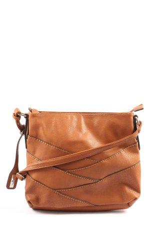 Tom Tailor Handtasche braun Casual-Look