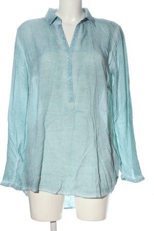Tom Tailor Hemd-Bluse blau Casual-Look