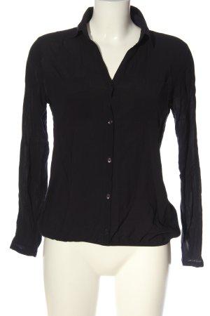 Tom Tailor Hemd-Bluse schwarz Casual-Look