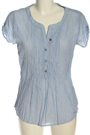 Tom Tailor Koszulowa bluzka niebieski W stylu casual