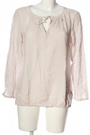 Tom Tailor Hemd-Bluse wollweiß Casual-Look