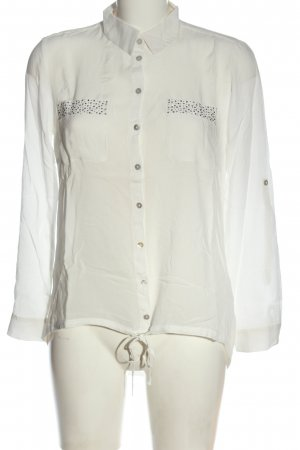 Tom Tailor Hemd-Bluse weiß Business-Look