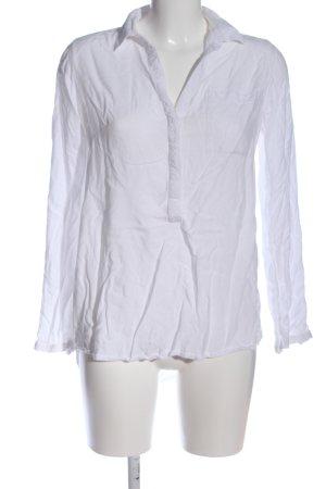 Tom Tailor Hemd-Bluse weiß Casual-Look