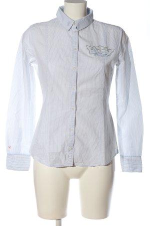 Tom Tailor Hemd-Bluse weiß Motivdruck Business-Look
