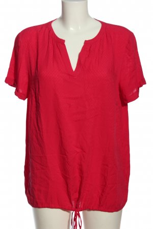 Tom Tailor Hemd-Bluse rot Casual-Look