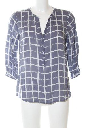 Tom Tailor Hemd-Bluse blau-weiß Karomuster Casual-Look