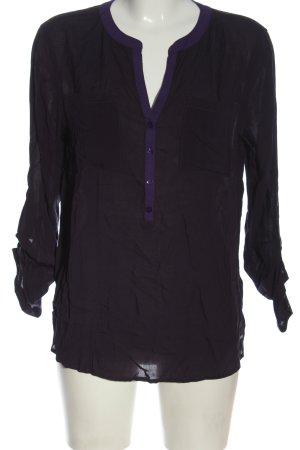 Tom Tailor Hemd-Bluse lila Business-Look