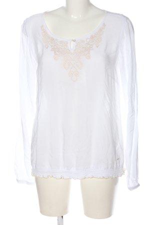 Tom Tailor Hemd-Bluse weiß Elegant