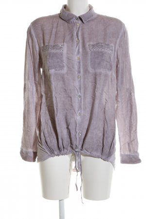 Tom Tailor Hemd-Bluse lila Casual-Look