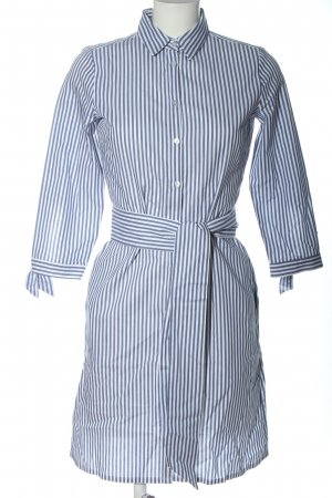 Tom Tailor Shirtwaist dress white-blue striped pattern casual look